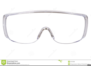 Safety Glasses Clipart.