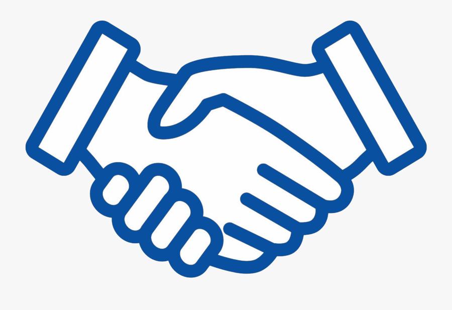 Handshake Clipart Line Art.