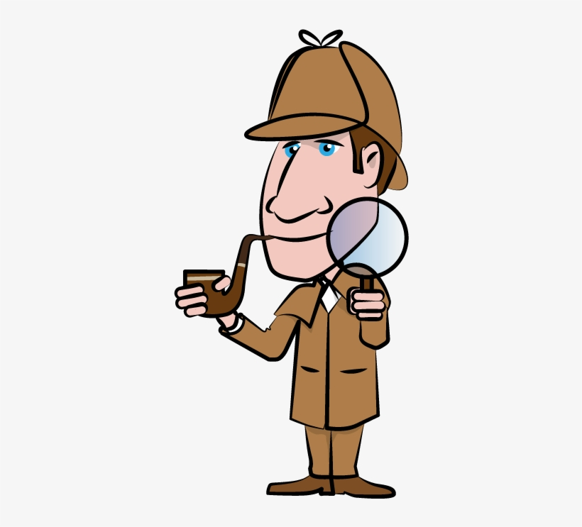 Sherlock Holmes Clipart Mystery Person.