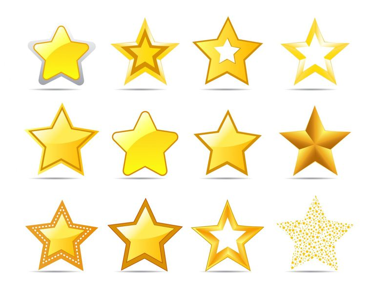 8 Places to Find Free Star Clip Art Images.