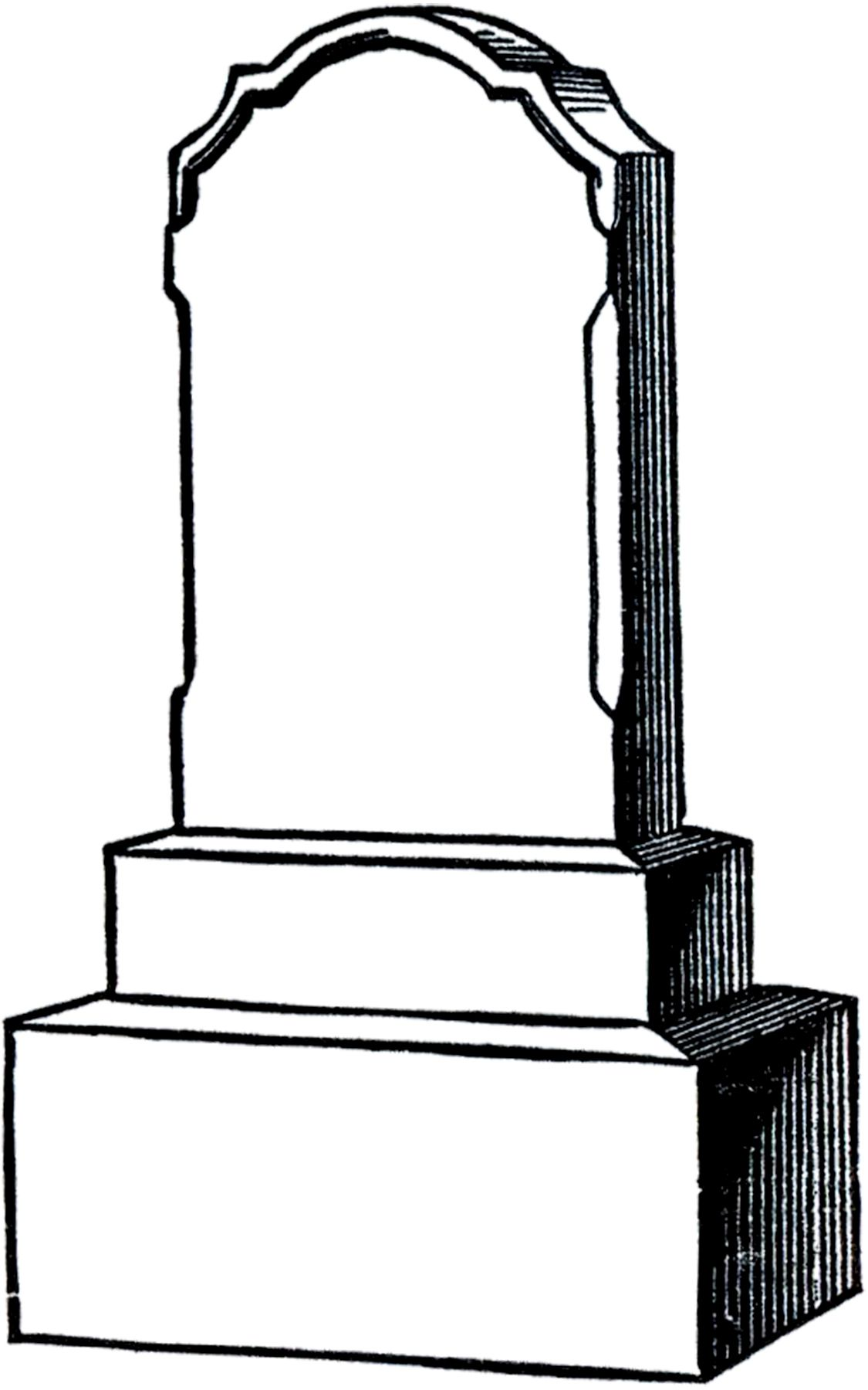 13 Graveyards and Gravestone Clipart.