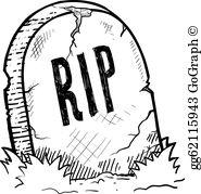 Tombstone Clip Art.