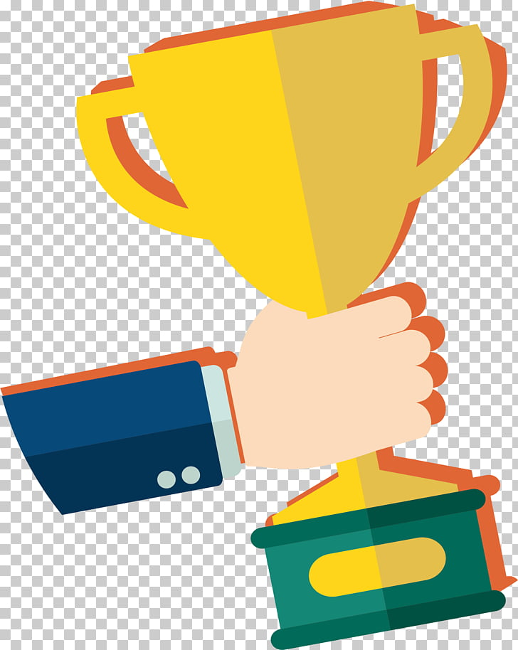 Award Trophy , Won the trophy PNG clipart.