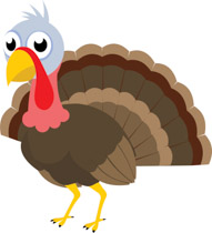 Free Turkey Clipart.