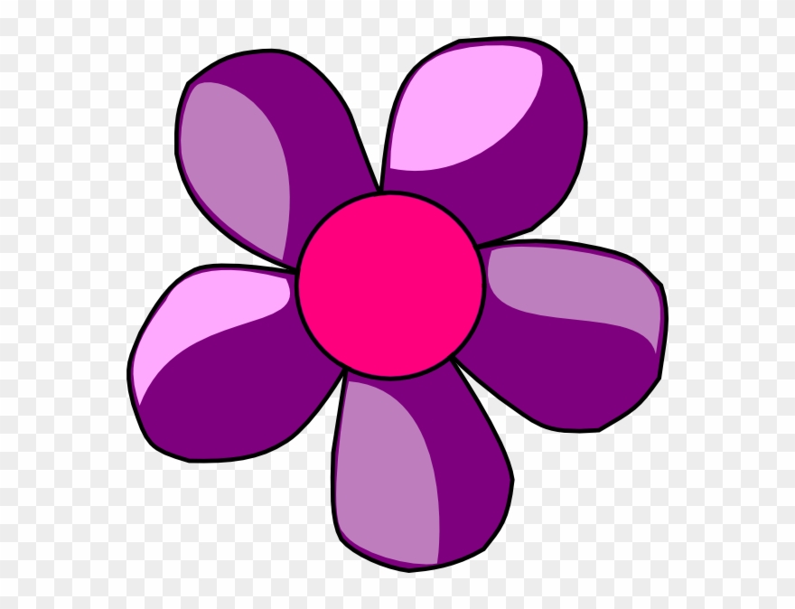 Violet Clipart Small Flower.