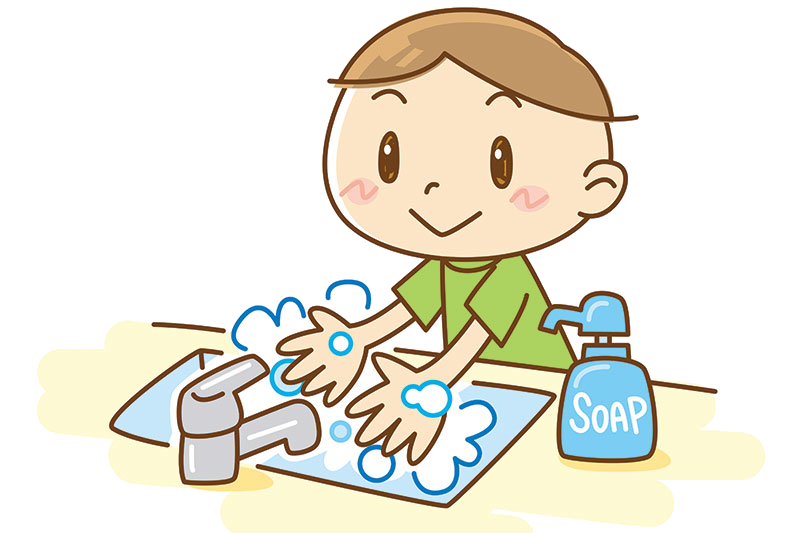 Washing Hands Clipart Collection Of With Soap Transparent.