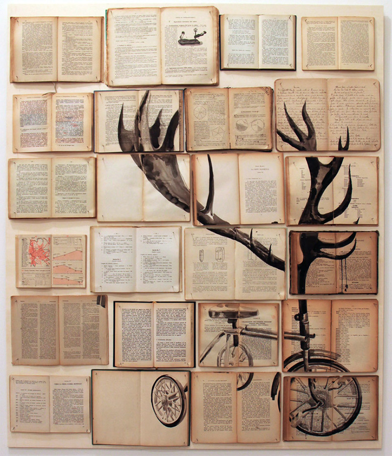 Book Paintings by Ekaterina Panikanova.