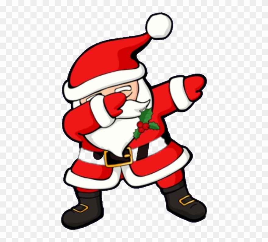 Dabbing Santa Clipart (#1114689).