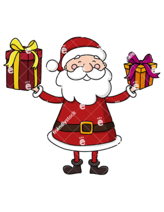 Cute Santa Clipart at GetDrawings.com.