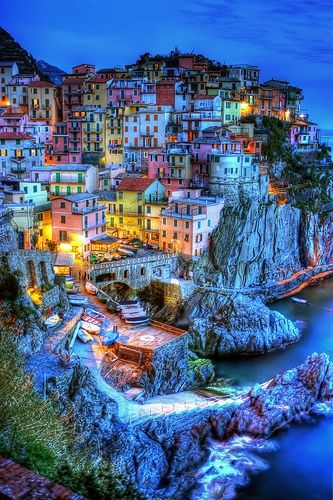 The 100 most beautiful places in the world.I've been to 3.