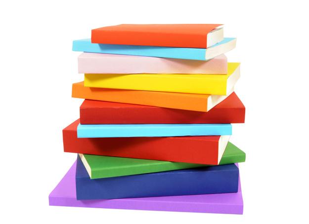 Pile of books 1 Photo.