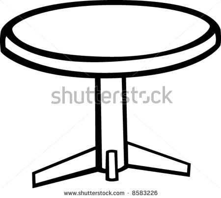 pedestal round table.