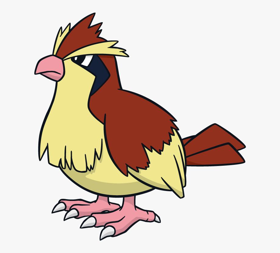 Pidgey Pokemon Character Vector Art.