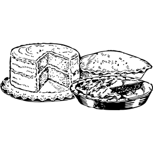 pies and cake clipart, cliparts of pies and cake free.