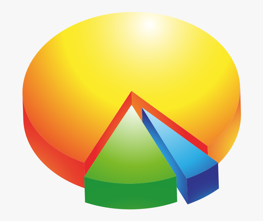Colored Blank Pie Chart , Transparent Cartoon, Free Cliparts.
