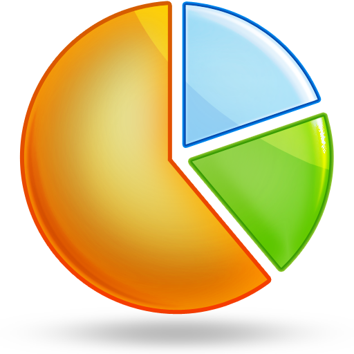 Chart Icon clipart.