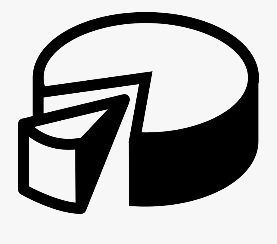 Banner Black And White Library D Pie Chart Png Icon.