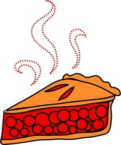 cherry pie clip art.