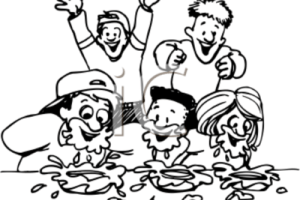 Pie eating contest clipart » Clipart Portal.