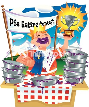 Pie eating contest clipart 7 » Clipart Portal.