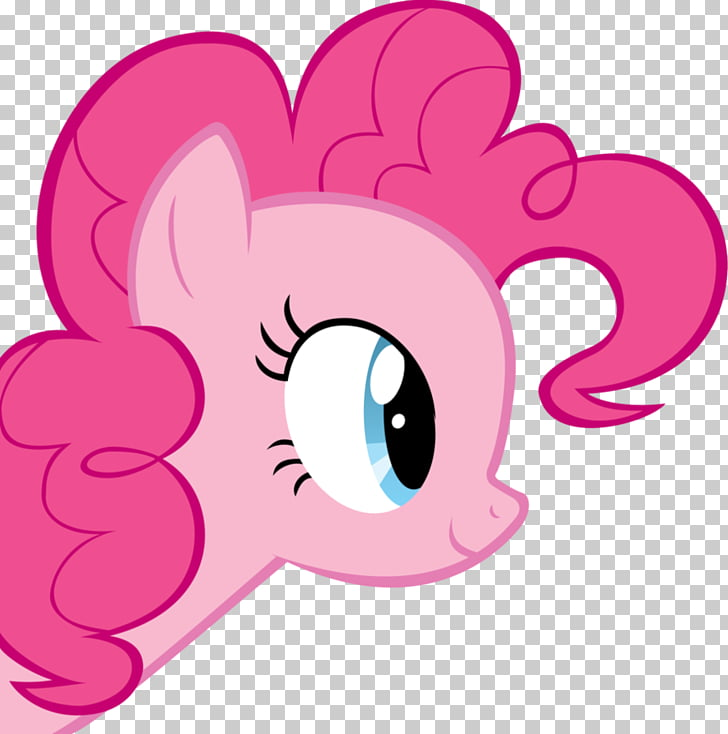 Pinkie Pie Face Hasbro, pie PNG clipart.