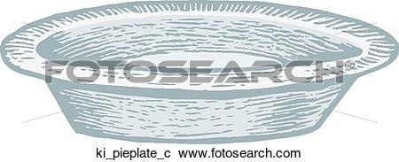 Clipart of Pie Plate ki_pieplate_c.