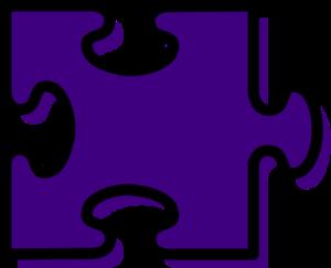 Red puzzle piece clip art at vector clip art.