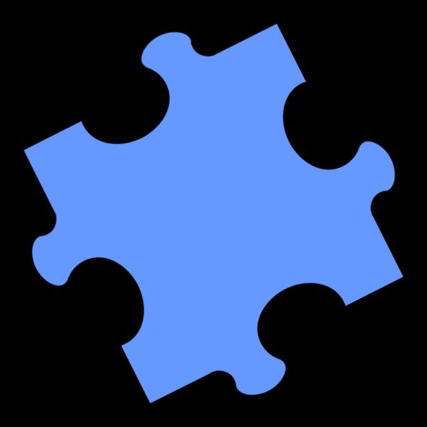 Jigsaw Puzzle Pieces Clipart.