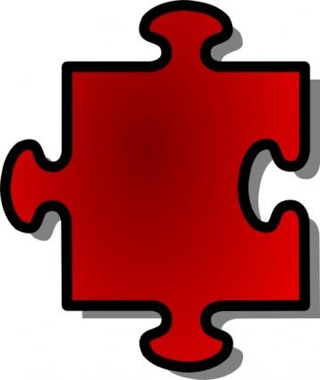 Puzzle piece clipart #5