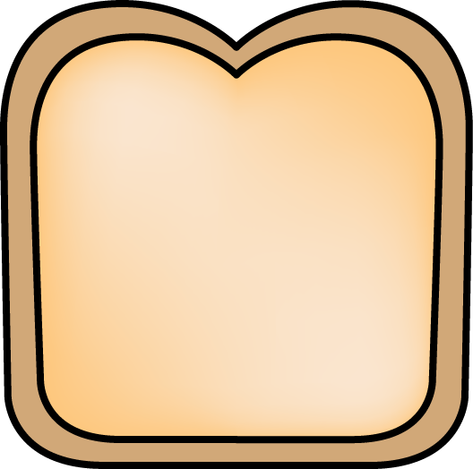 85+ Slice Of Bread Clipart.