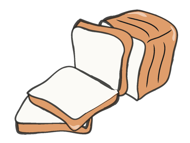 94+ Slice Of Bread Clipart.
