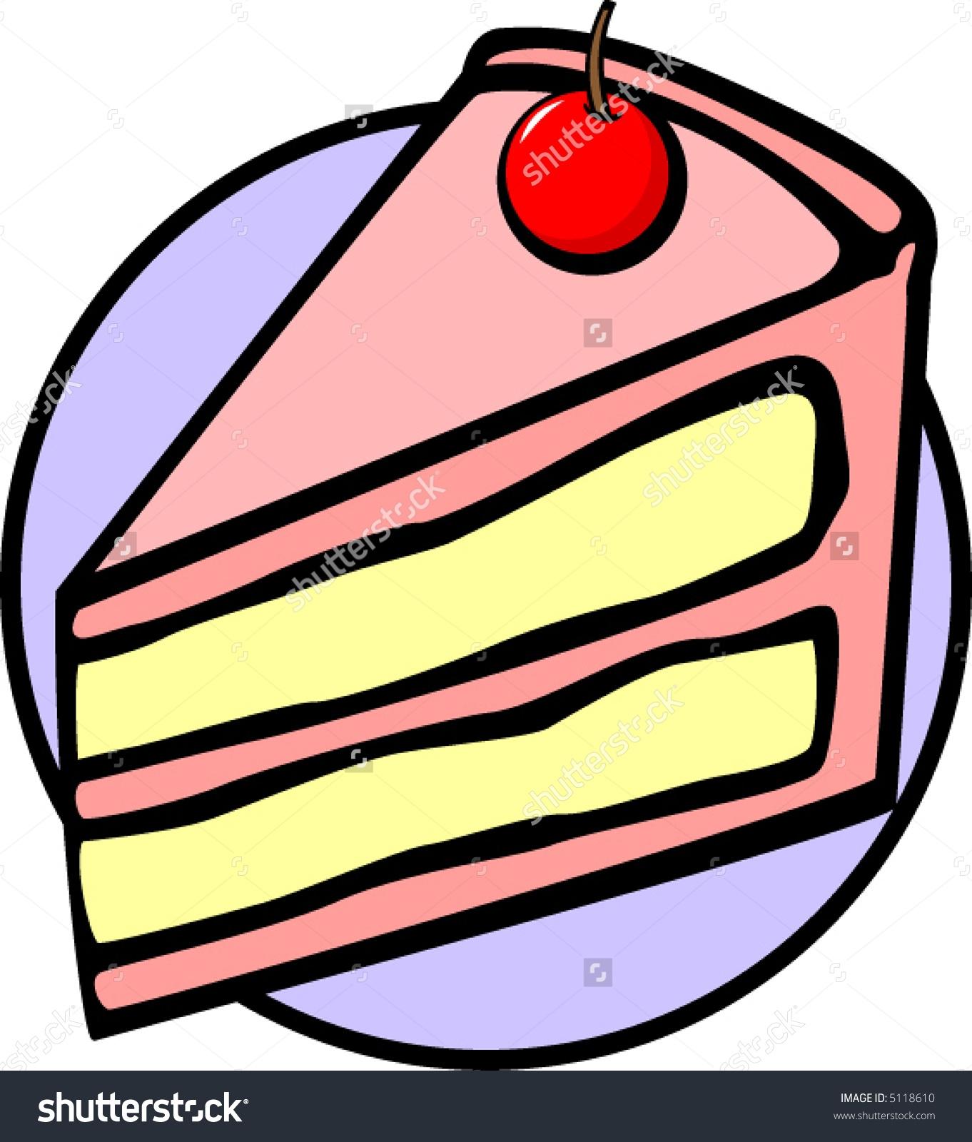 Idiom Piece of Cake Clip Art.