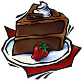 Idiom Piece Of Cake Clipart.