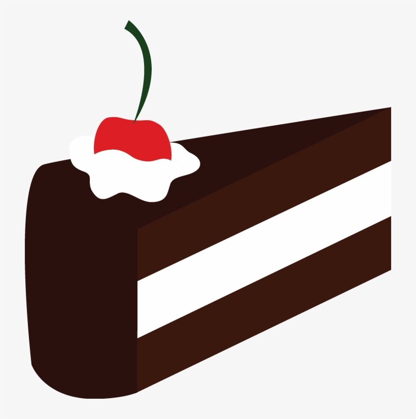 A Slice Of Cake By Artbyslider On Clipart Library.