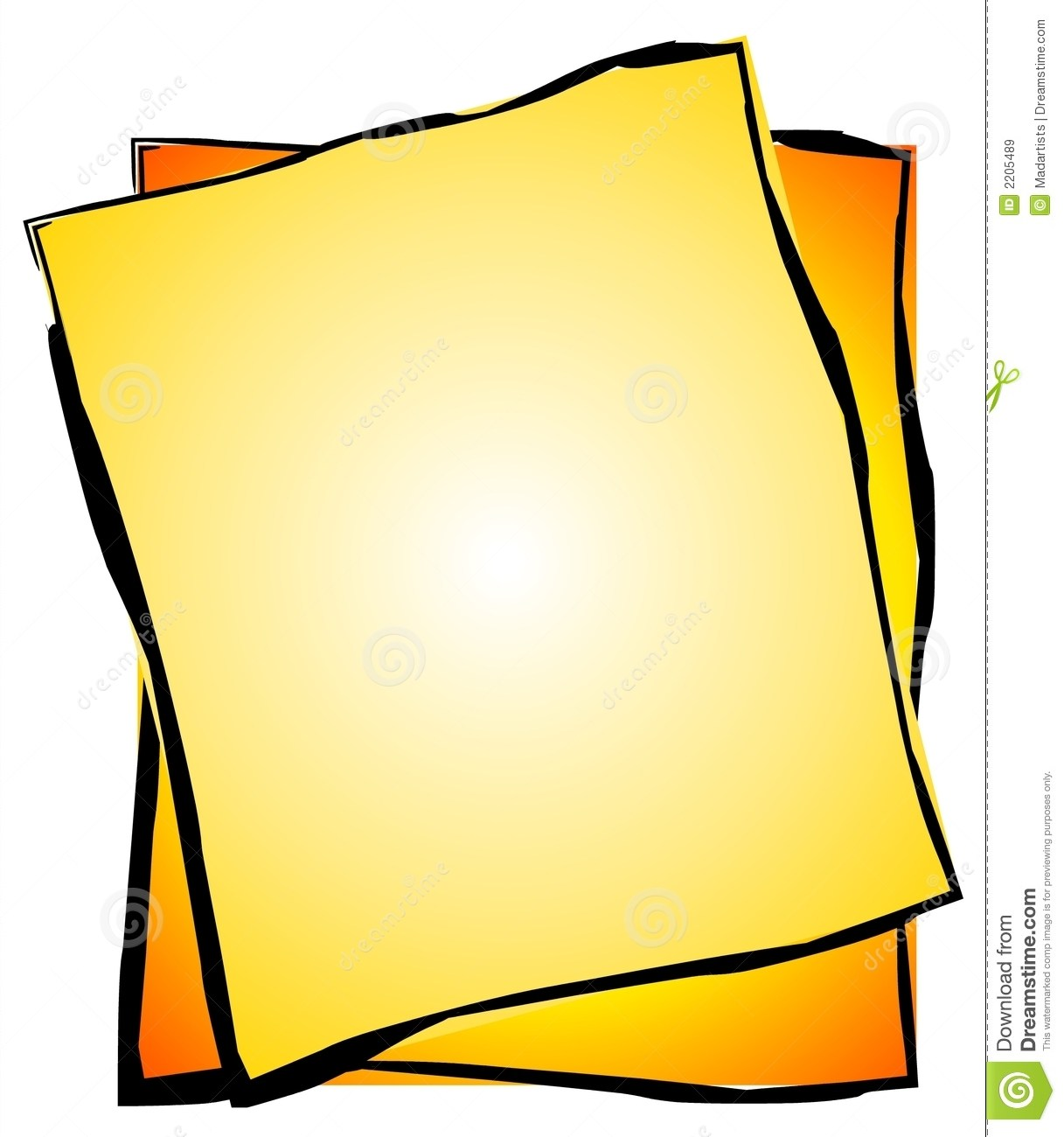 Piece of paper clipart 3 » Clipart Portal.