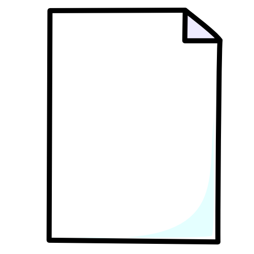 Piece Of Paper Clipart.