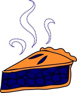 Piece of pie clipart #3