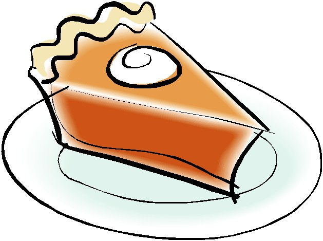 Clipart piece of pie.
