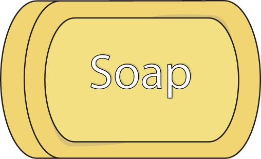 Bar of Soap Clip Art.