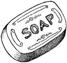 Body soap clipart.