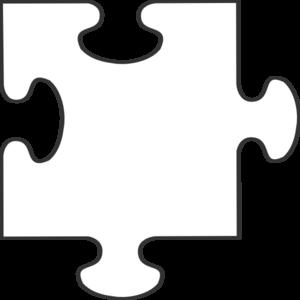 Puzzle piece puzzle clip art image #20096.