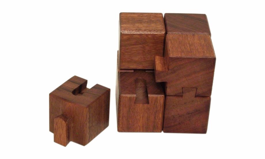 Groovy Cubes 8 Piece Puzzle.