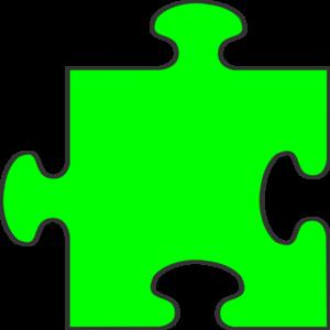 Interlocking Puzzle Pieces Clipart.