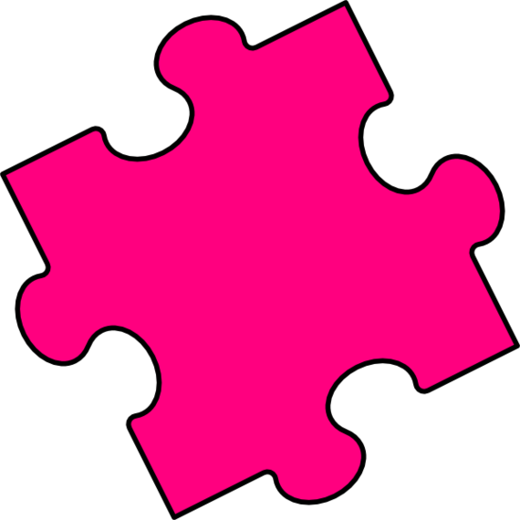 Animated Puzzle Pieces Clip Art.