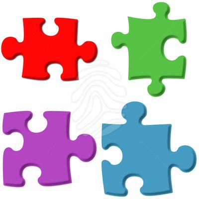 Puzzle pieces clip art powerpoint.