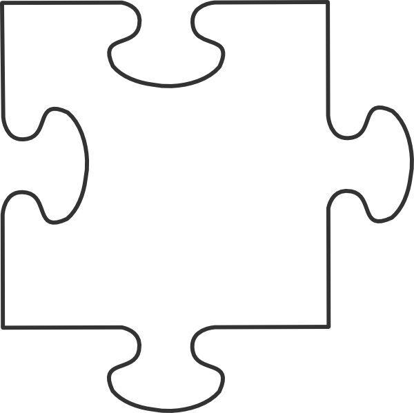Puzzle Piece Template.