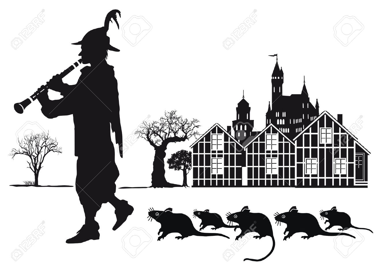 Pied Piper Royalty Free Cliparts, Vectors, And Stock Illustration.