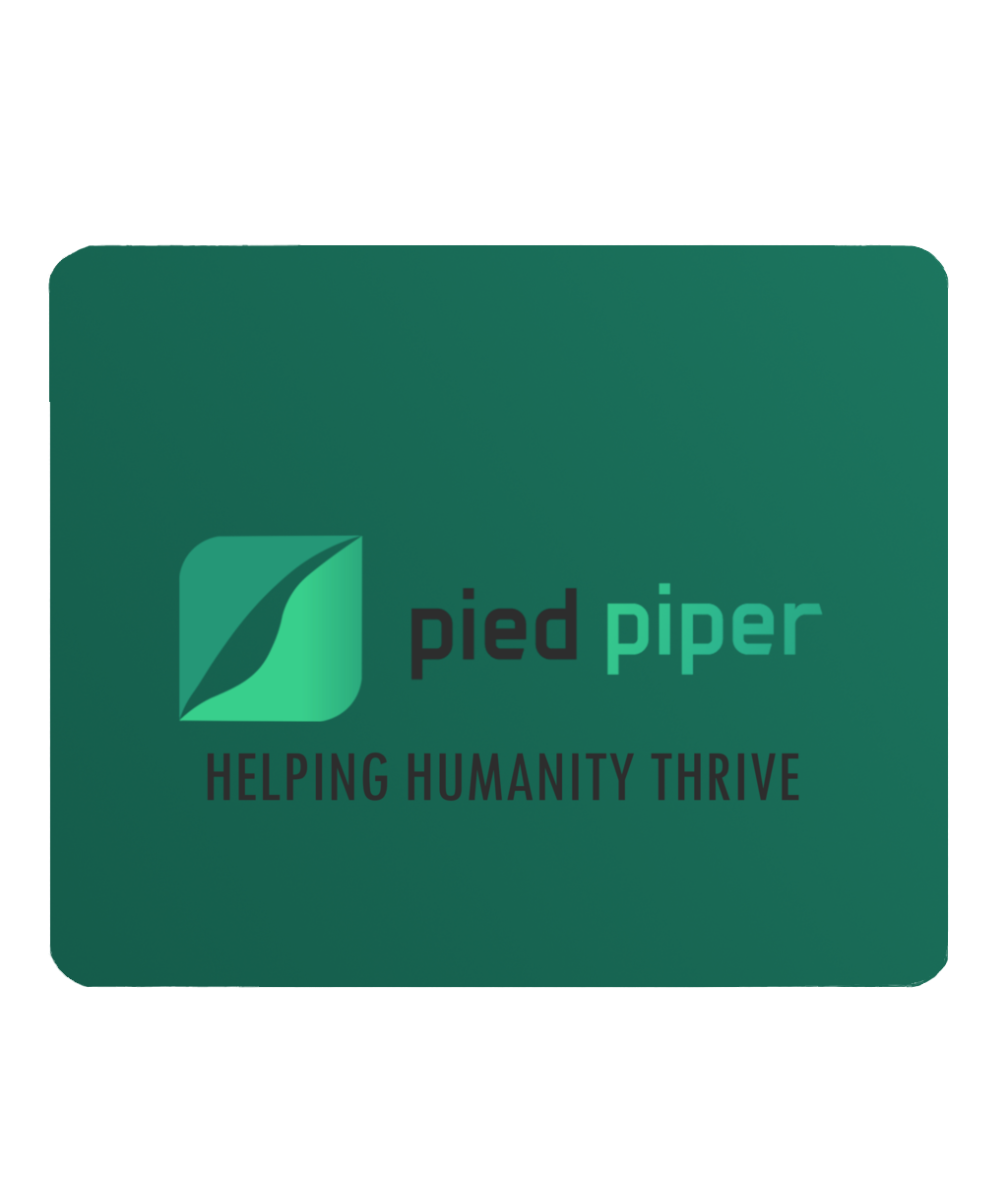 Silicon Valley Pied Piper Inspired PC Computer Mouse Mat.