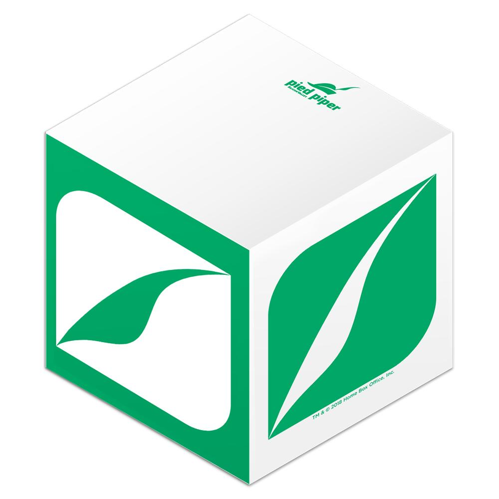 Pied Piper Paper Cube from Silicon Valley.