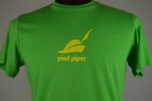 Details about Pied Piper Silicon Valley Company Logo HBO Mens Green XL  Graphic T Shirt.